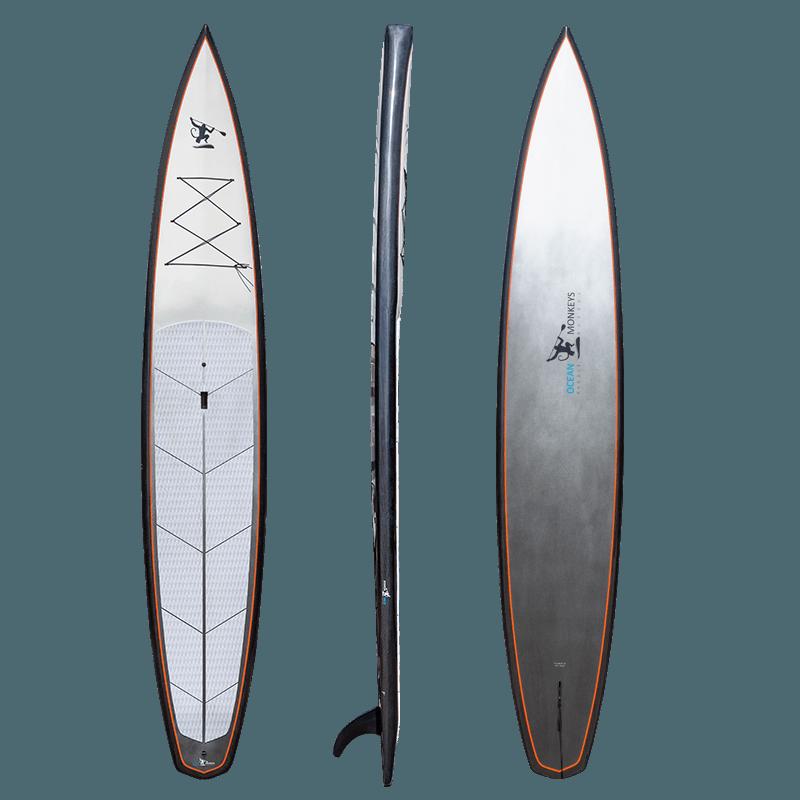 Arctic Marmoset 14' Carbon Fibre Race Board - Ocean Monkeys Paddle Boards