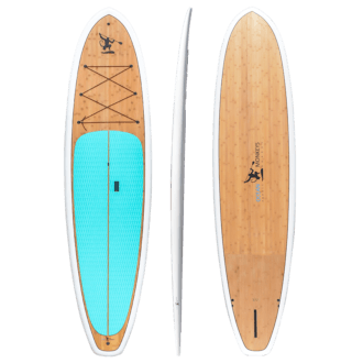 Bamboo Sup Stand Up Paddle Board - Ocean Monkeys Paddle Boards