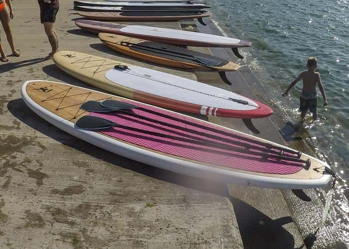 Pink Paddle Board Deck - Ocean Monkeys Paddle Boards