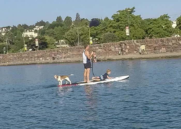 Family Sup Fishing Board - Ocean Monkeys Paddle Boards