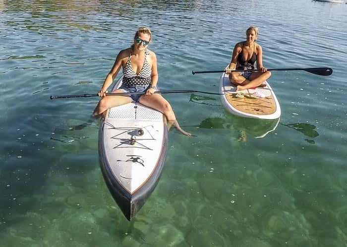 Carbon Fiber Race Paddle Board Form Ocean Monkeys - Ocean Monkeys Paddle Boards