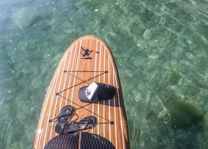 Clear Water Sup Paddle - Ocean Monkeys Paddle Boards